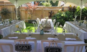 Best 25 Small Backyard Weddings Ideas On Pinterest Small Pertaining intended for Backyard Bbq Reception Ideas