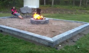 Building Back Yard Beach Themed Fire Pit Series Compilation Youtube pertaining to 14 Some of the Coolest Ways How to Makeover Beach Backyard Ideas