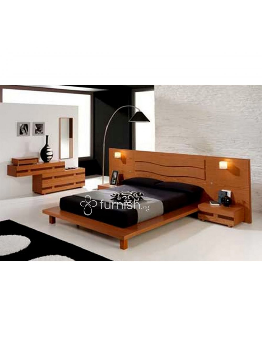 Buy The Iranola 5 Piece Modern Mdf Bedroom Set 1 Platform Bed 2 with 15 Smart Concepts of How to Build Modern Queen Bedroom Sets