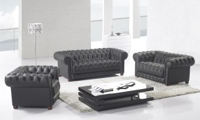 Canora Grey Peggie 3 Piece Leather Living Room Set Wayfair in White Leather Living Room Set