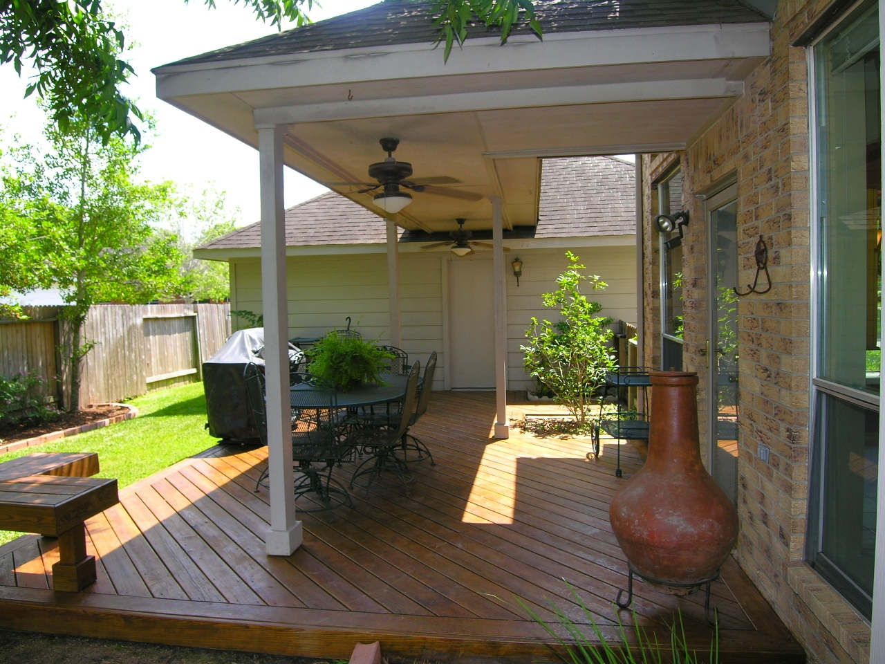 Covered Porch And Deck Designs Small Patio Furniture Sets with regard to 14 Awesome Ways How to Upgrade Covered Backyard Patio Ideas