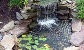 Diy Water Feature Ideas For Small Gardens Cute Water Lilies And Koi intended for 10 Smart Ways How to Craft Backyard Water Feature Ideas