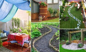 Easy And Creative Diy For Backyard Ideas On A Budget Garden Ideas inside Diy Backyard Landscaping On A Budget