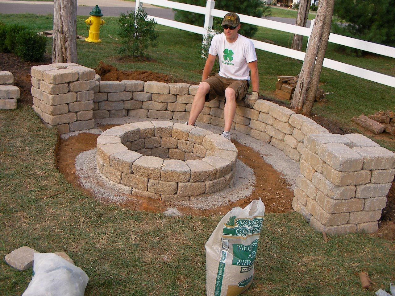 Easy Backyard Fire Pit Designs Yard Stuff Fire with regard to 14 Awesome Ways How to Improve Backyard Fire Pits Ideas