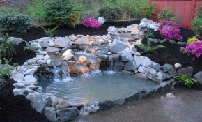 Easy Backyard Pond Ideas Three Beach Boys Landscape Backyard within Backyard Duck Pond Ideas