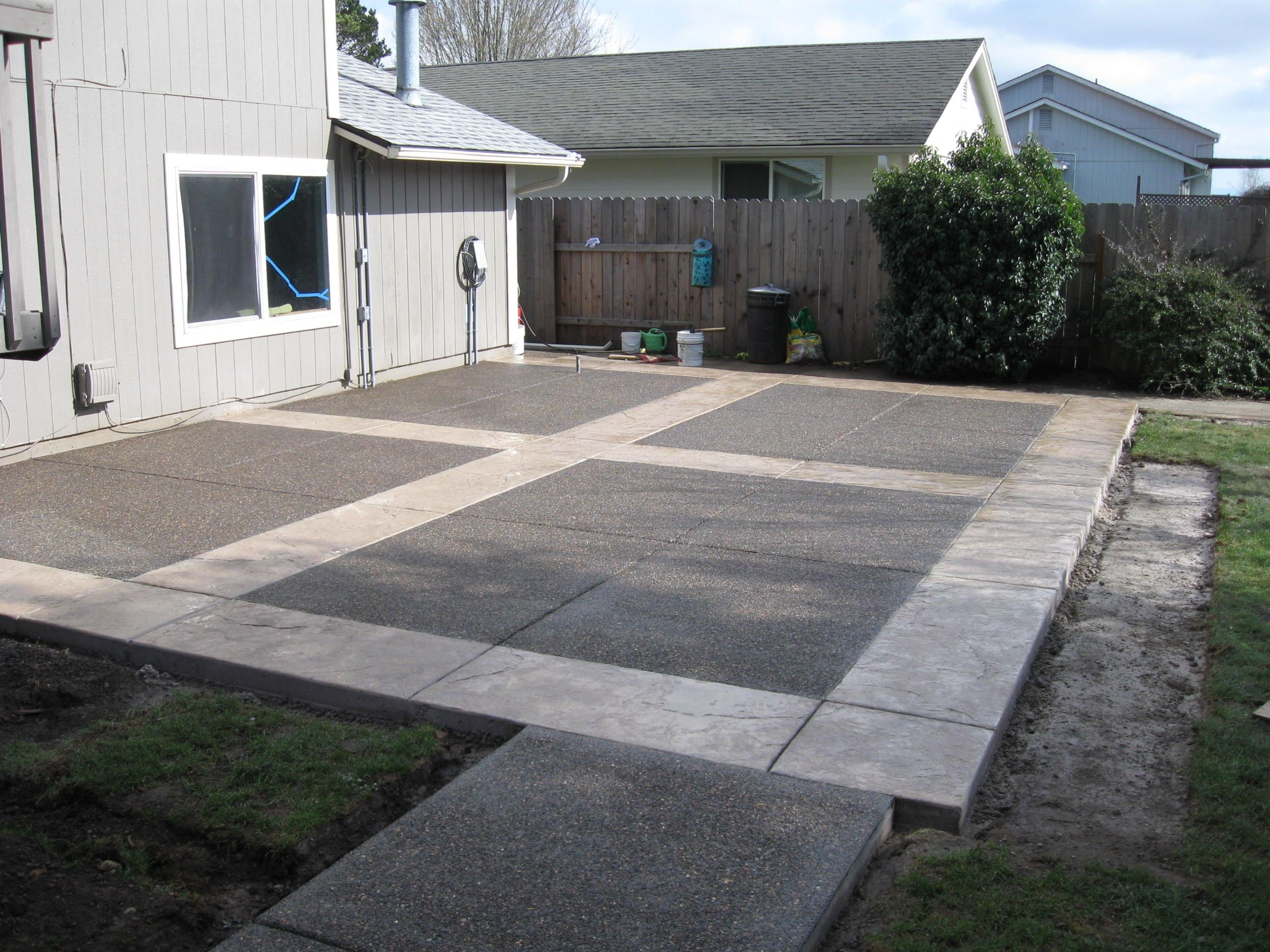 Easy Cement Backyards Google Search Backyard Cement Patio intended for 10 Some of the Coolest Ways How to Make Cement Ideas For Backyard