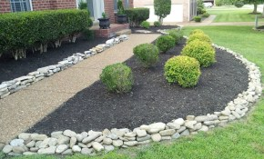 Gravel Landscape Front Yard Landscaping With Rocks That Carry inside 15 Smart Ways How to Makeover Gravel Backyard Landscaping
