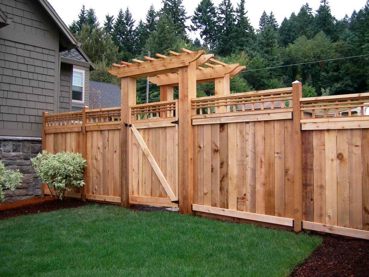 House Fencing Costs Materials And Installation Planning Pricing in Cost To Fence A Backyard