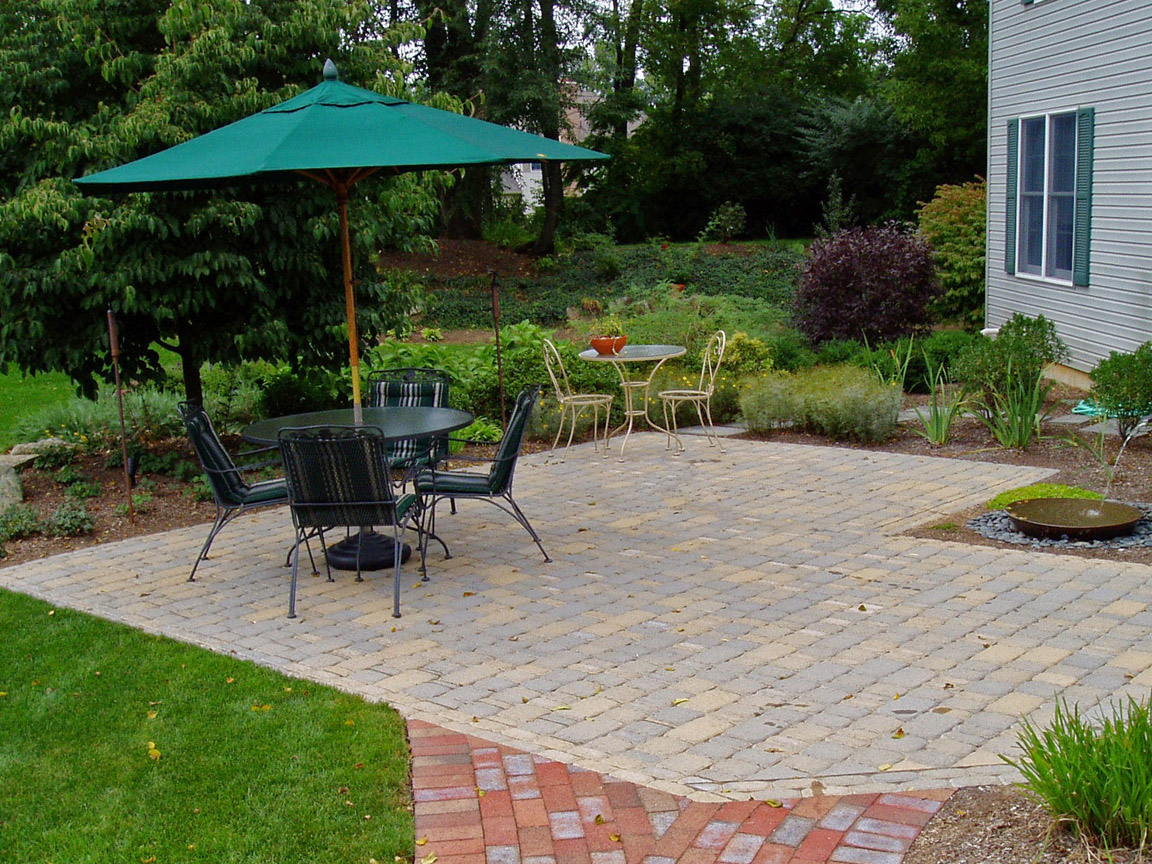 How Much Does A Paver Patio Cost Garden Design Inc intended for Cost Of Backyard Landscaping