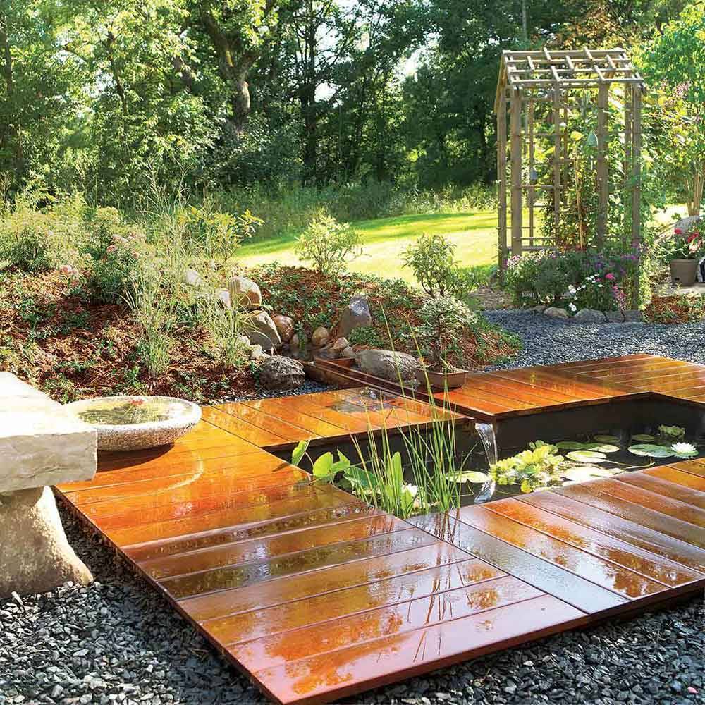 How To Build A Pond Easily Cheaply And Beautifully The Garden Glove with Backyard Ponds Ideas