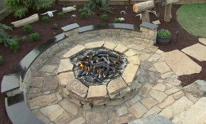 How To Build A Stone Fire Pit How Tos Diy with 13 Smart Ways How to Craft Backyard Rock Fire Pit Ideas