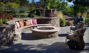 How To Create Fire Pit On Yard Simple Backyard Fire Pit Ideas with regard to Backyard Rock Fire Pit Ideas