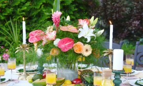 Ideas For Hosting A Backyard Tropical Themed Dinner Party This with regard to 12 Genius Designs of How to Makeover Tropical Backyard Design Ideas