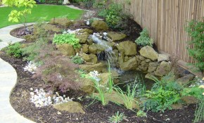 Imagespace Simple Diy Garden Designs Gmispace within Simple Backyard Landscaping Ideas