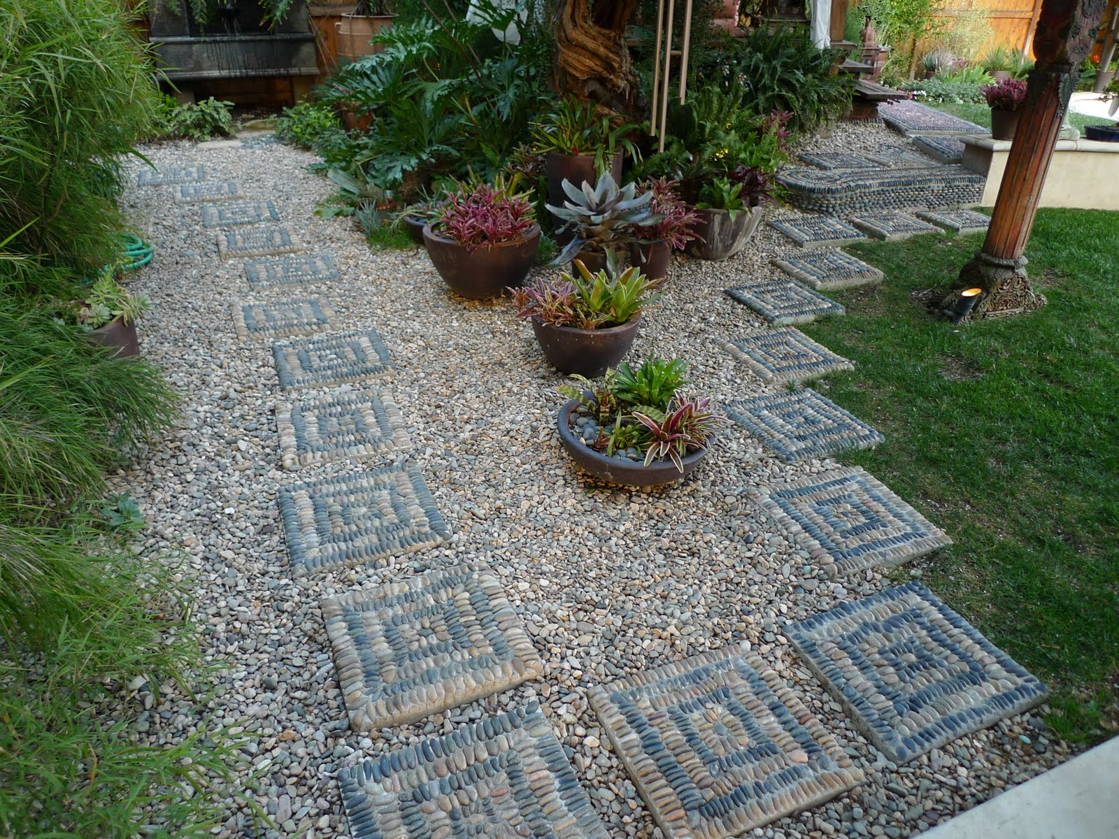Jeffrey Bales World Of Gardens Building A Pebble Mosaic Stepping Stone inside Decorative Stones For Backyard