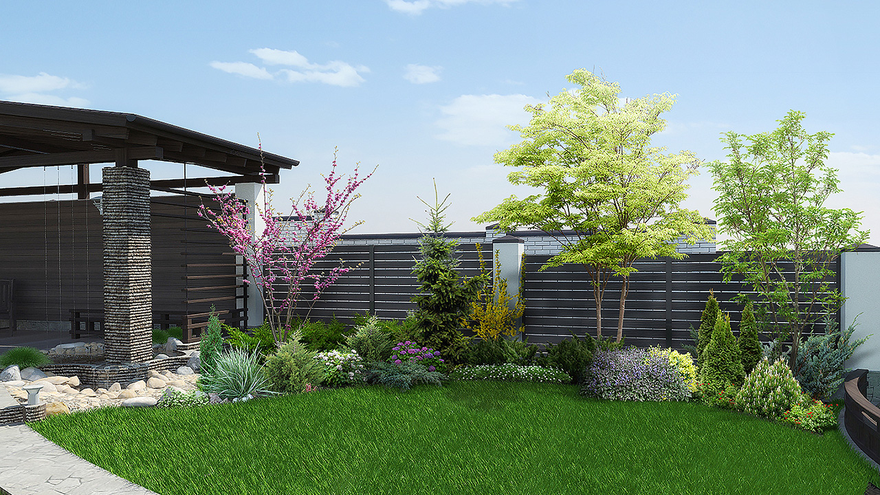 Landscaping Ideas For Corner Lots Aviara Real Estate for Corner Backyard Landscaping Ideas