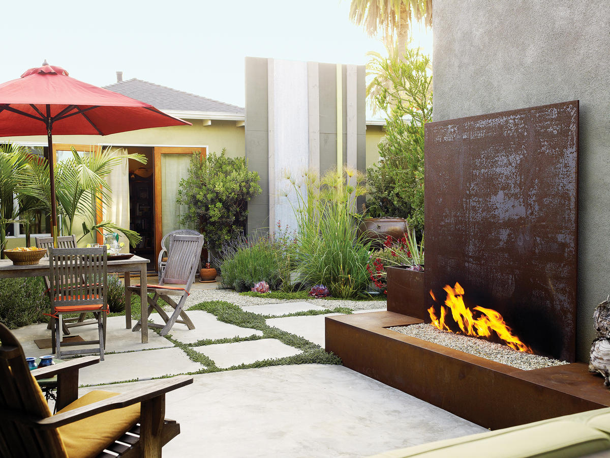 Landscaping Ideas With Stone Sunset Magazine intended for House Backyard Ideas