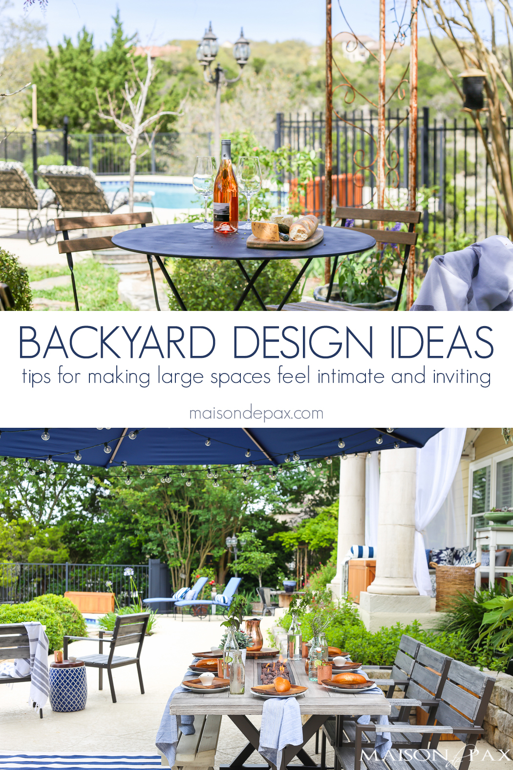 Large Backyard Design Ideas Maison De Pax with regard to 10 Some of the Coolest Initiatives of How to Upgrade Big Backyard Ideas