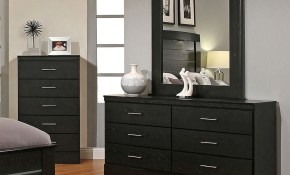 Modwell Black Modern Bedroom Furniture throughout 11 Some of the Coolest Concepts of How to Craft Modern Bedroom Dresser