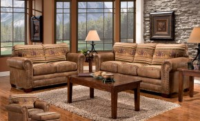 Mustang Band 4 Piece Set inside Western Living Room Sets