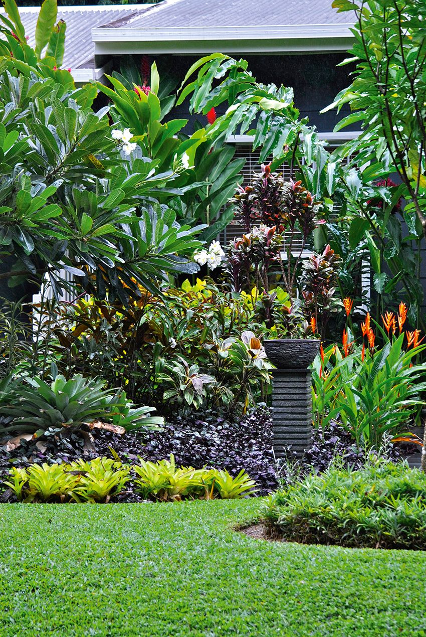 Outdoor Living Tropical Tabu Tropical Gardens Tropical Garden within 14 Awesome Concepts of How to Build Tropical Backyard Landscaping