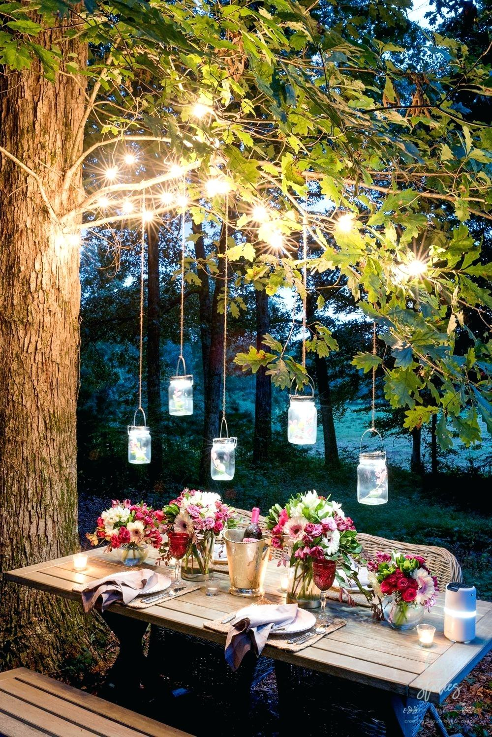 Outdoor Trellis Lighting Ideas Patio String Lights Trees Cofoundrsco throughout 15 Clever Ways How to Makeover Backyard String Lighting Ideas