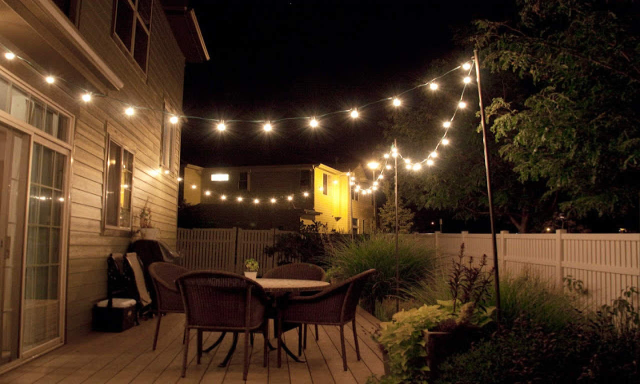 Patio String Lights Ideas Air Home Products Patio String Lights for Backyard String Light Ideas