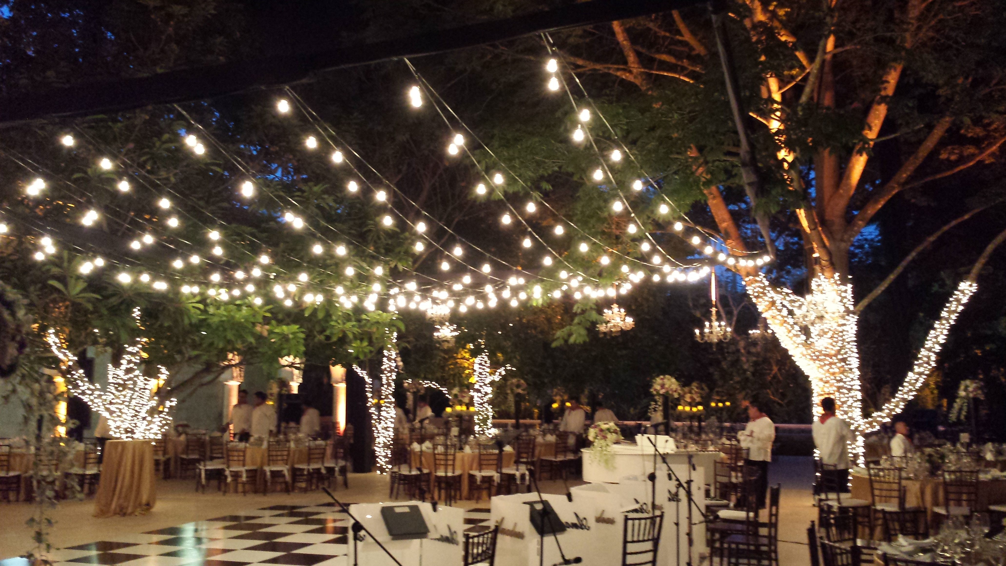 Patio String Lights Ideas Awesome House Lighting Ideas To throughout Backyard String Light Ideas