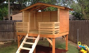 Play Fort Around The House Backyard Fort Playhouse Outdoor for 10 Genius Concepts of How to Upgrade Backyard Fort Ideas