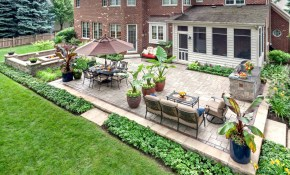 Prepare Your Yard For Spring With These Easy Landscaping Ideas inside 14 Smart Concepts of How to Make Backyard Easy Landscaping Ideas