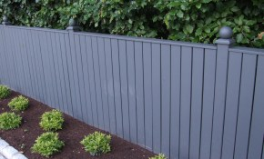 Pressure Treated Bespoke Timber Fence Painted With Farrow Ball with Painting Backyard Fence