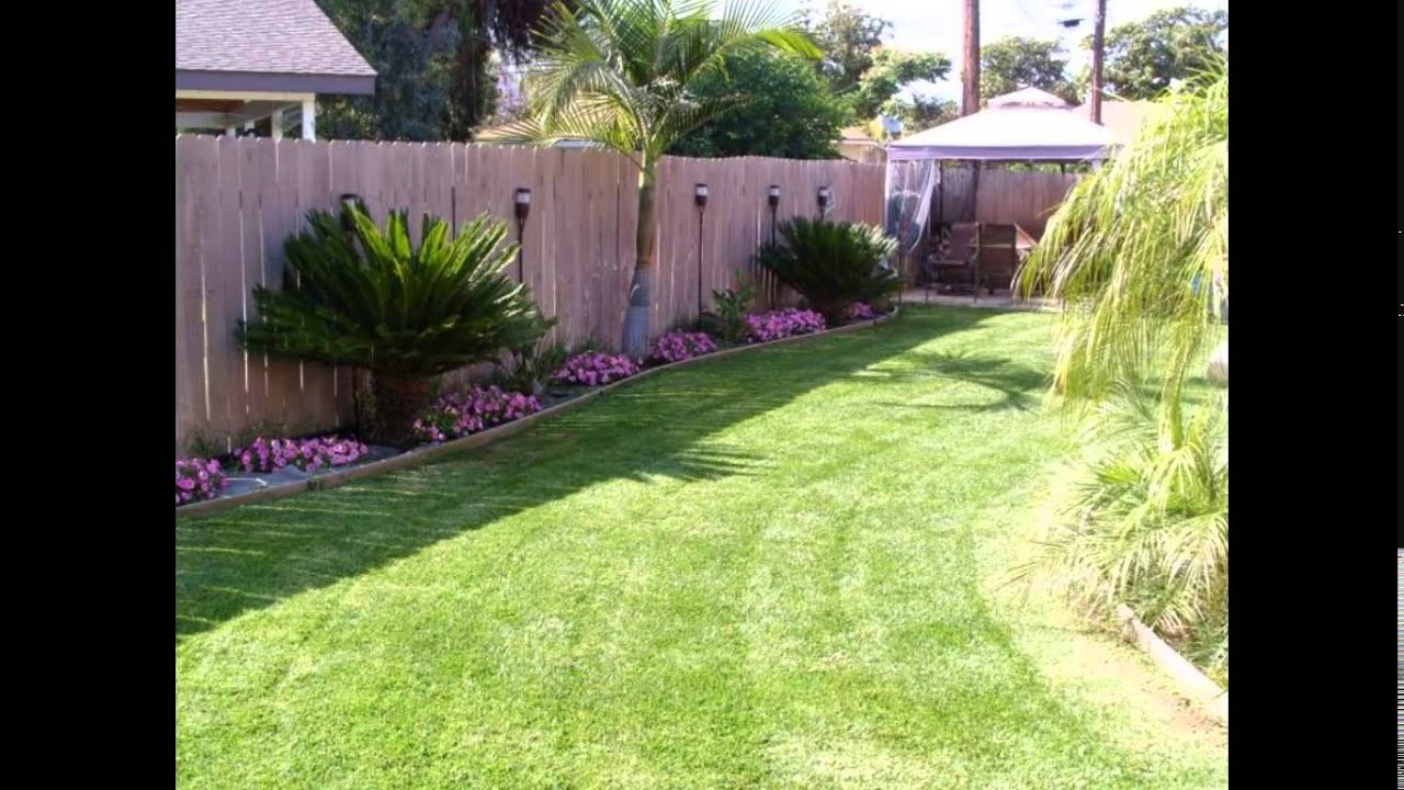 Small Backyard Ideas Small Backyard Landscaping Ideas Youtube in 13 Clever Ideas How to Improve Small Backyards Ideas