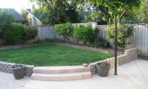 Small Front Yard Landscaping Ideas Low Maintenance Simple Backyard inside Low Maintenance Backyard Ideas