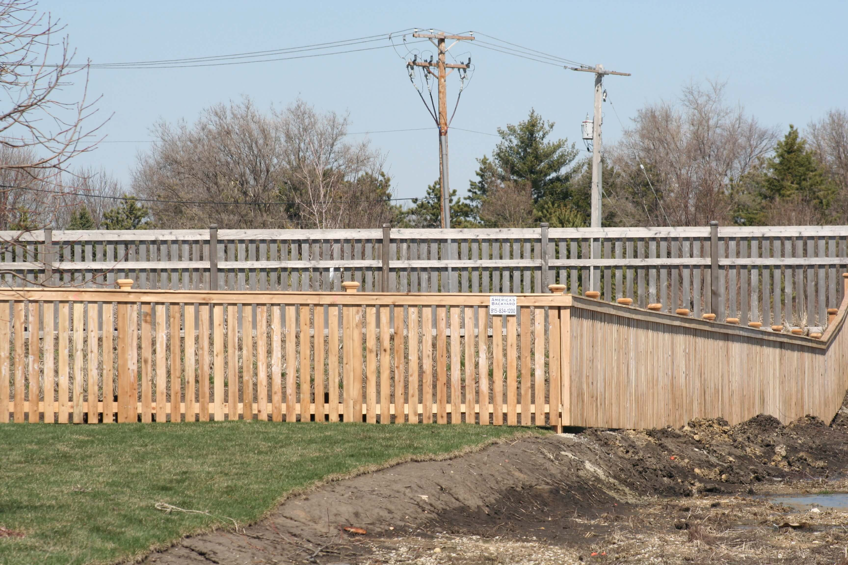 Spaced Cedar Fences Joliet Il Americas Backyard Chicagoland throughout 15 Clever Tricks of How to Craft America'S Backyard Fence