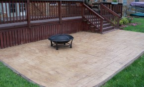 Stamped Concrete Patio Designs Gestablishment Home Ideas Perfect regarding 15 Smart Concepts of How to Upgrade Concrete Patio Ideas Backyard