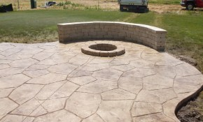 Top Stamped Cement Patio Patio Backyard Porch The Amazing Thing within 10 Some of the Coolest Ways How to Make Cement Ideas For Backyard
