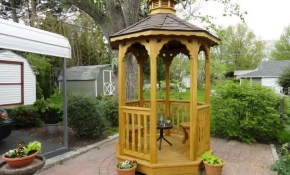 Very Small Outdoor Gazebo Gazebo Ideas Small Garden Gazebo Small throughout Backyard Gazebo Ideas