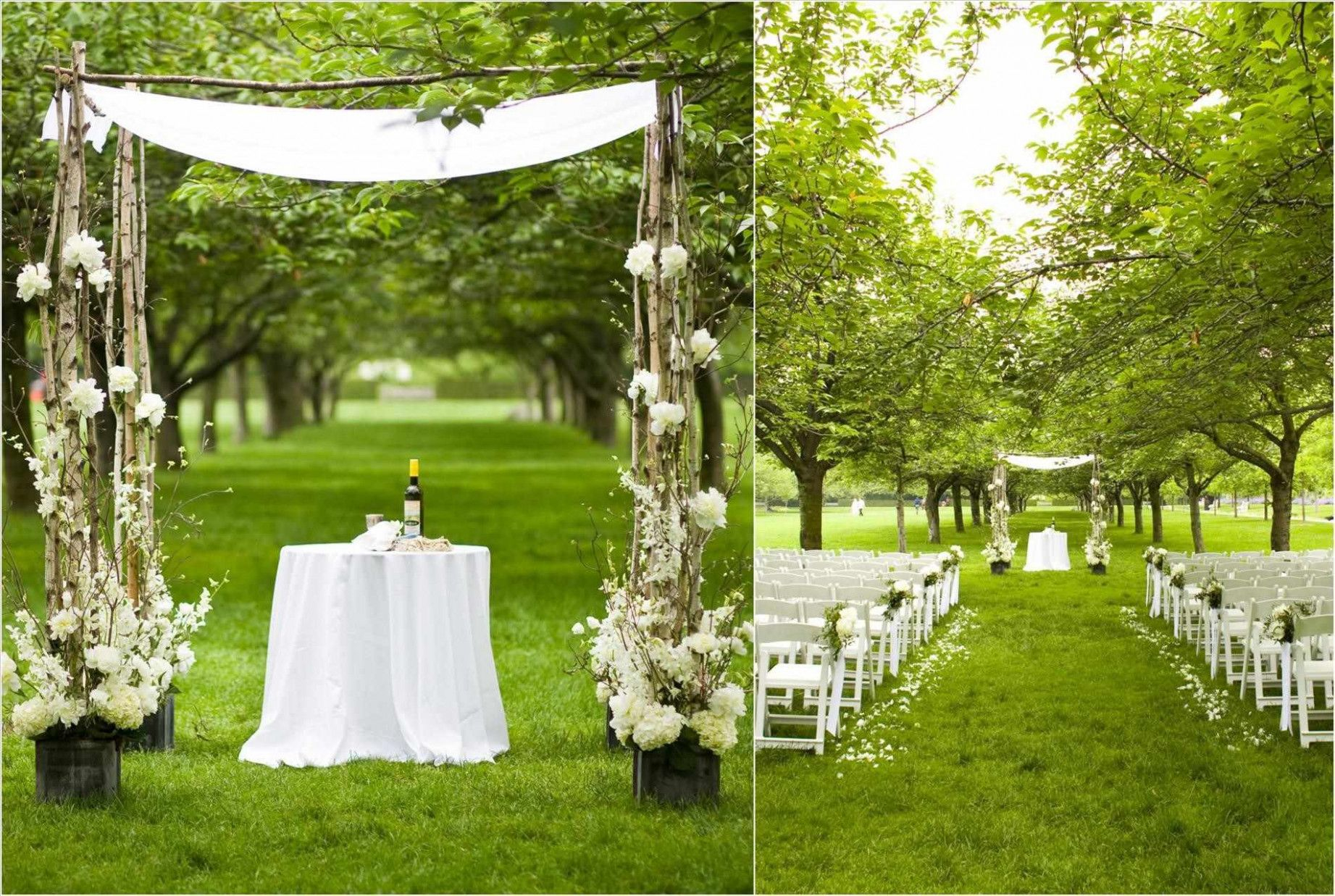 Wedding Ideas On A Budget Colors Simple Wedding Inspirations inside Small Backyard Wedding Ideas On A Budget