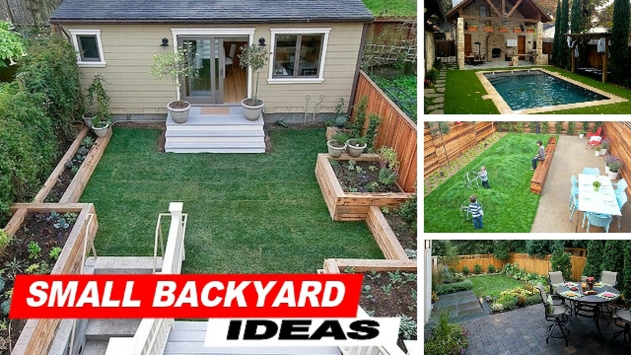 Wow Small Backyard Ideas With Grass Youtube with regard to 14 Clever Ideas How to Upgrade Landscaping For Small Backyards