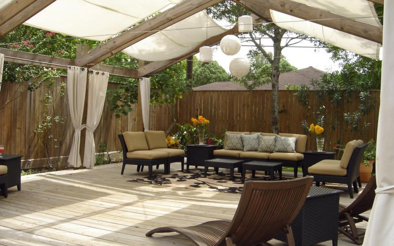 11 Awesome Backyard Patio Deck Shade Ideas Collection Backyard for 10 Clever Ideas How to Craft Backyard Shade Ideas