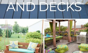 12 Diy Backyard Ideas For Patios Porches And Decks The Budget in 10 Awesome Ways How to Craft Backyard Decks And Patios Ideas