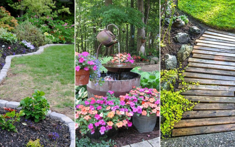 14 Cheap Landscaping Ideas Budget Friendly Landscape Tips For regarding 11 Smart Concepts of How to Craft Backyard Cheap Landscaping Ideas