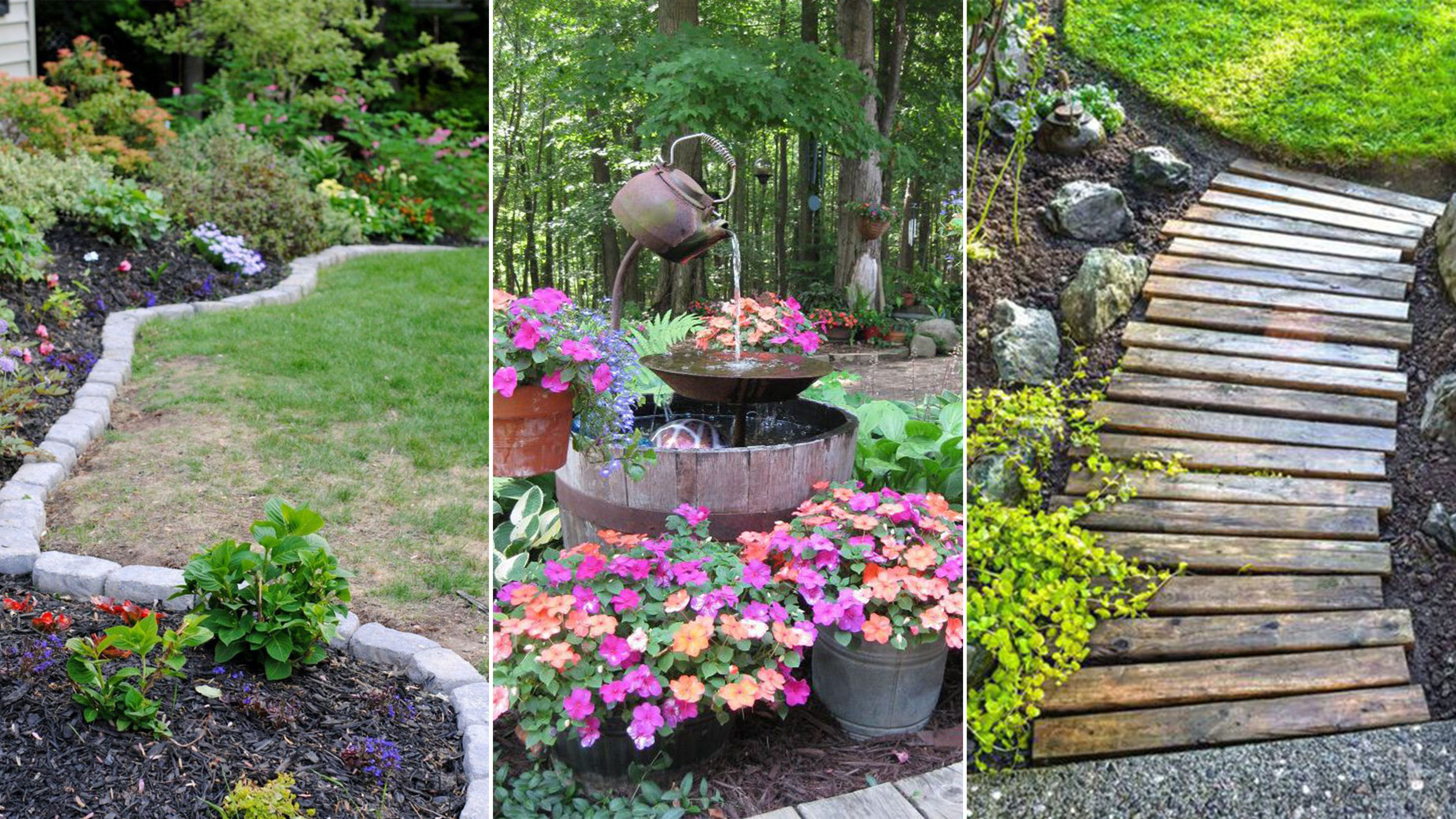 14 Cheap Landscaping Ideas Budget Friendly Landscape Tips For with 13 Smart Designs of How to Improve Pics Of Backyard Landscaping