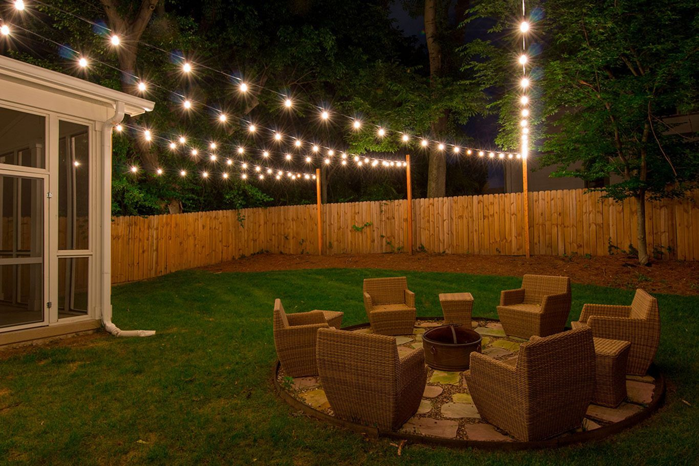 15 Wonderful Diy Backyard Lighting Ideas For Small Party At Night with Backyard Party Lighting Ideas