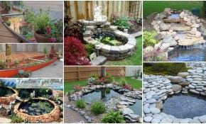 20 Diy Backyard Pond Ideas On A Budget That You Will Love inside Backyard Pond Ideas