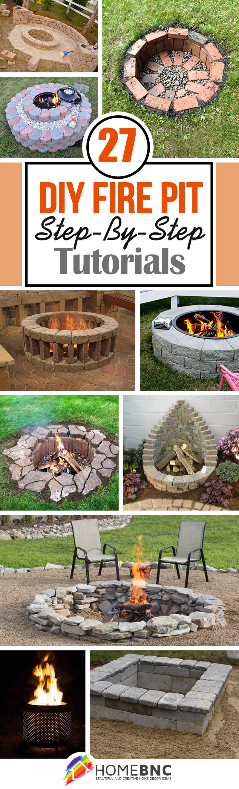 27 Best Diy Firepit Ideas And Designs For 2019 in Backyard Firepit Ideas