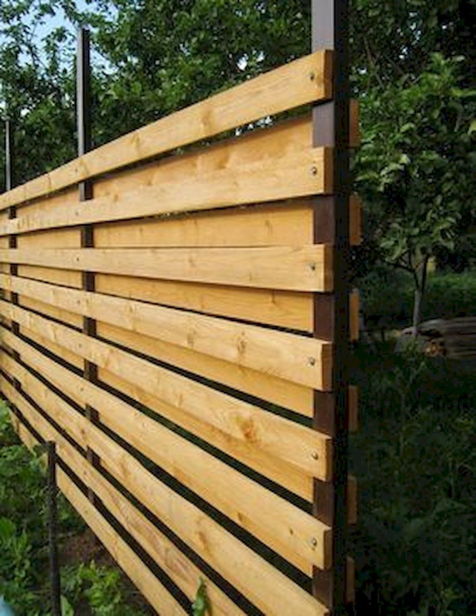 27 Unique Privacy Fence Ideas You May Consider For The Home pertaining to 13 Clever Concepts of How to Craft Privacy Fences For Backyards