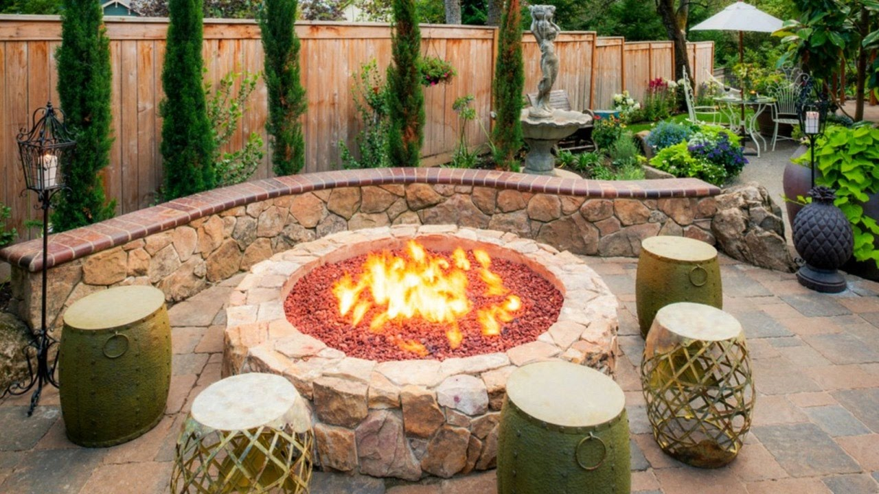28 Cool Fire Pit Ideas Outdoor Fire Pit Design Youtube regarding 11 Some of the Coolest Tricks of How to Make Cheap Backyard Fire Pit Ideas