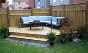 30 Best Small Deck Ideas Decorating Remodel Photos House pertaining to Backyard Small Deck Ideas