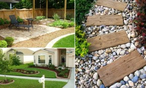 35 Easy Simple And Cheap Landscape Ideas For Front Yard Garden pertaining to 11 Smart Concepts of How to Craft Backyard Cheap Landscaping Ideas